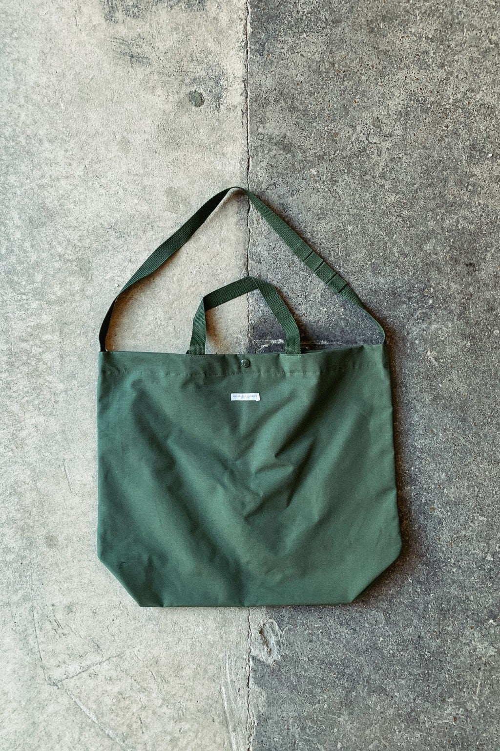 Engineered Garments Carry All Tote Olive Cotton Ripstop