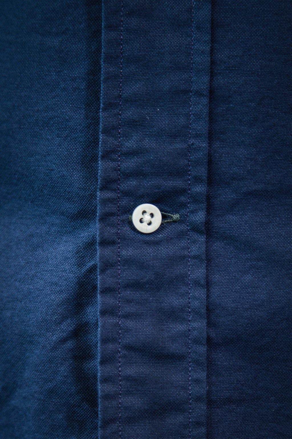 Gitman Bros. Vintage Oxford Shirt Navy Overdye