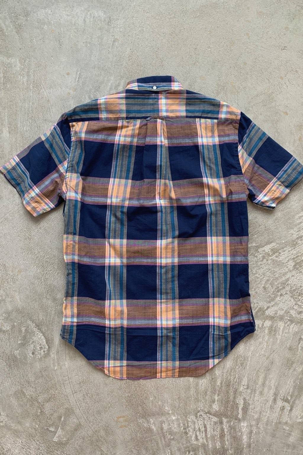 Gitman Bros. Vintage Short Sleeve Button Down  Archive Madras