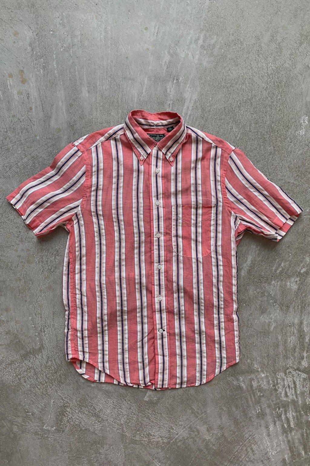 Gitman Bros. Vintage Short Sleeve Button Down Shirt Multicolor