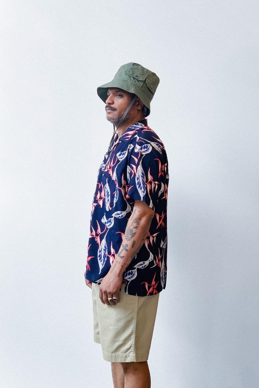 Gitman Bros. Vintage Camp Collar Shirt Rayon Floral
