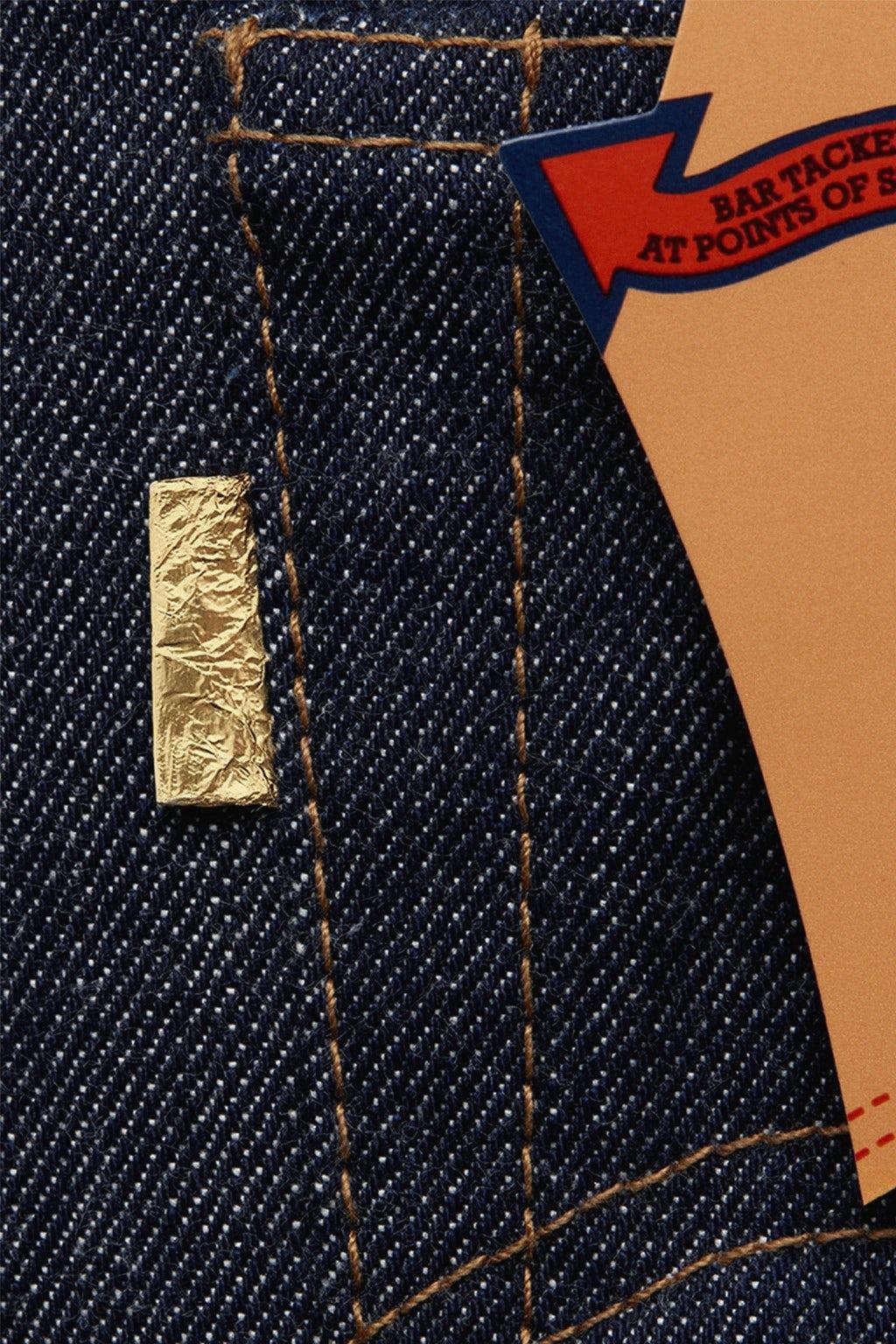 """Levi's 1971 """"Golden Ticket"""" 501 1971 501"""