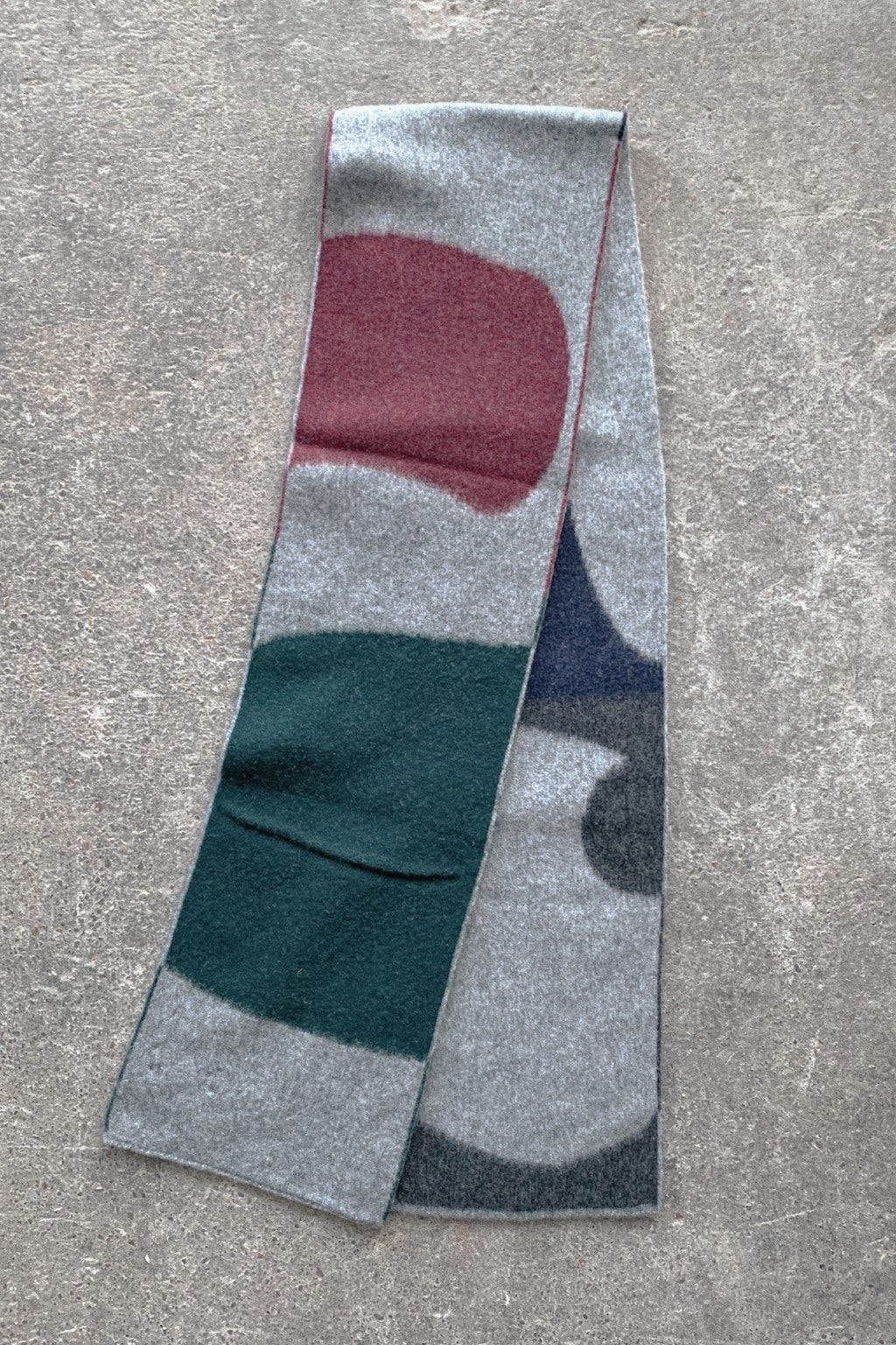 Howlin' Tribute To Allan Watts Scarf Grey Mix