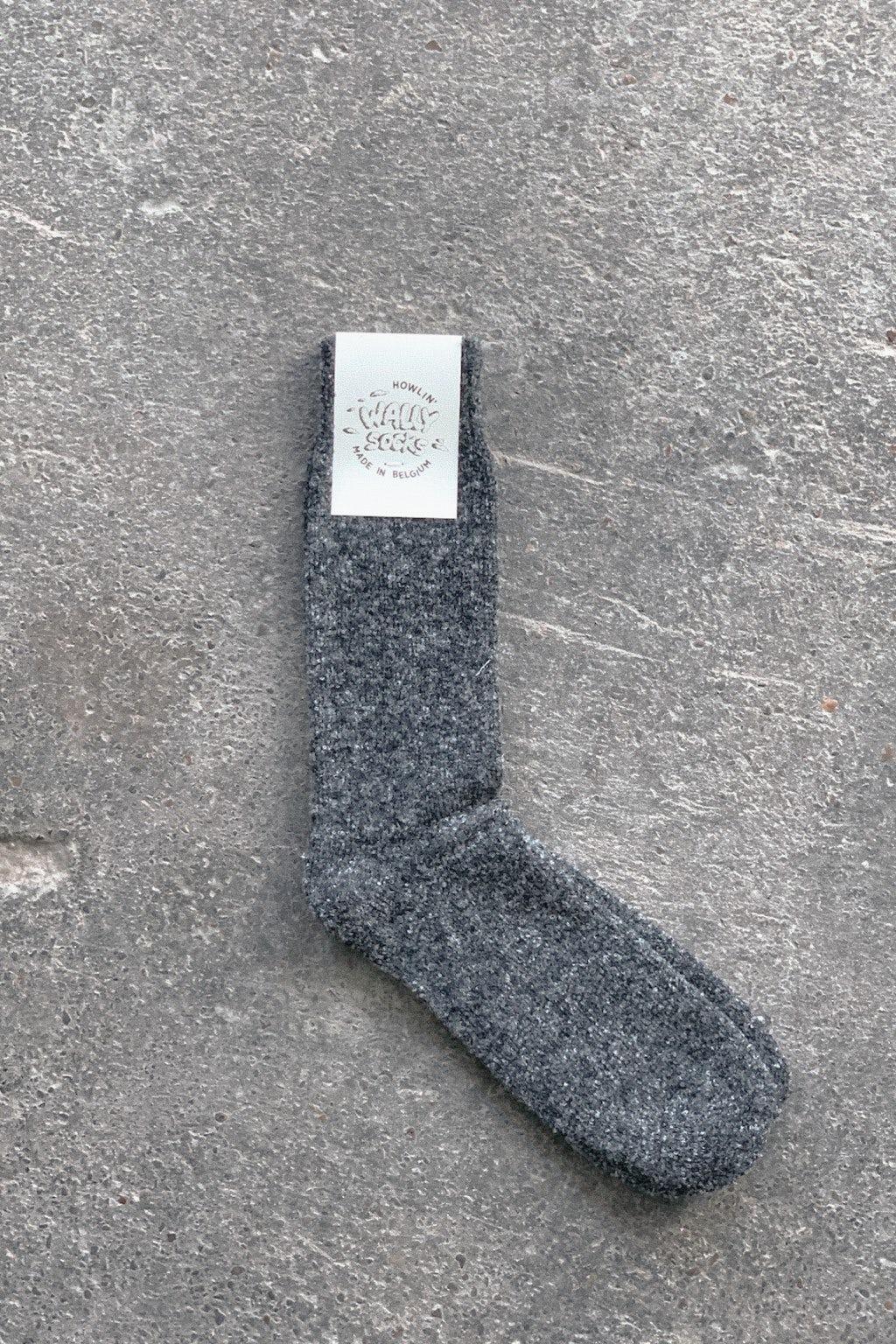 Howlin' Wally Socks Charcoal