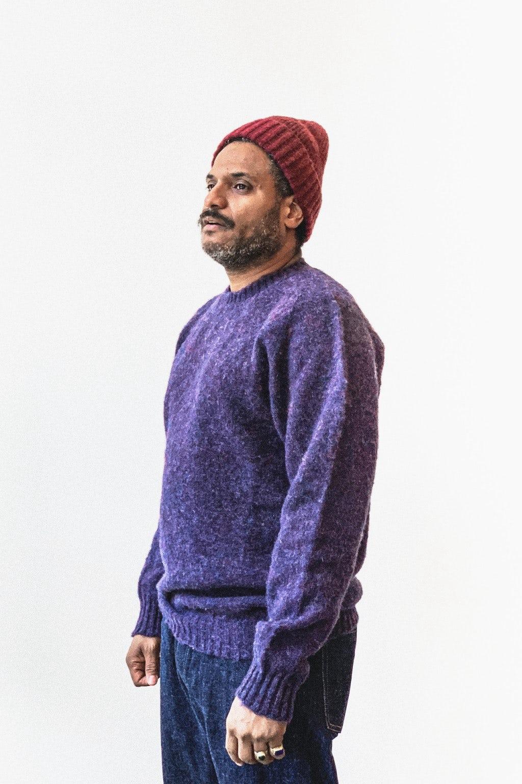 Howlin' Shaggy Bear Sweater Phantom