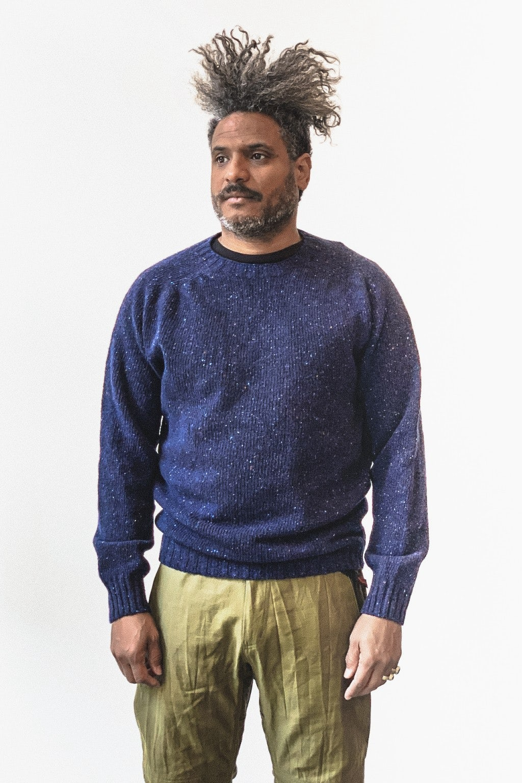 Howlin' Terry Sweater Navy
