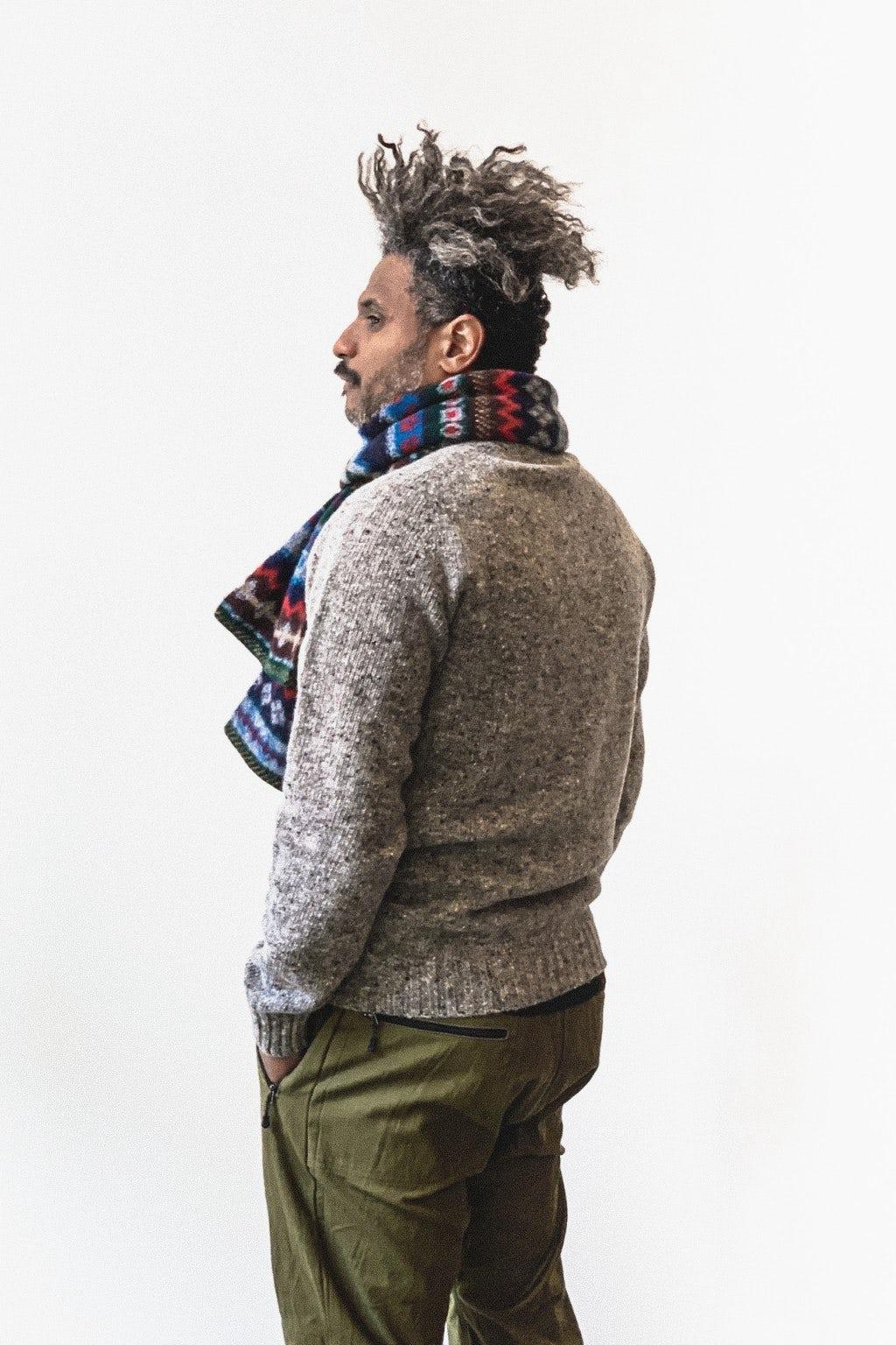 Howlin' Terry Sweater Grey