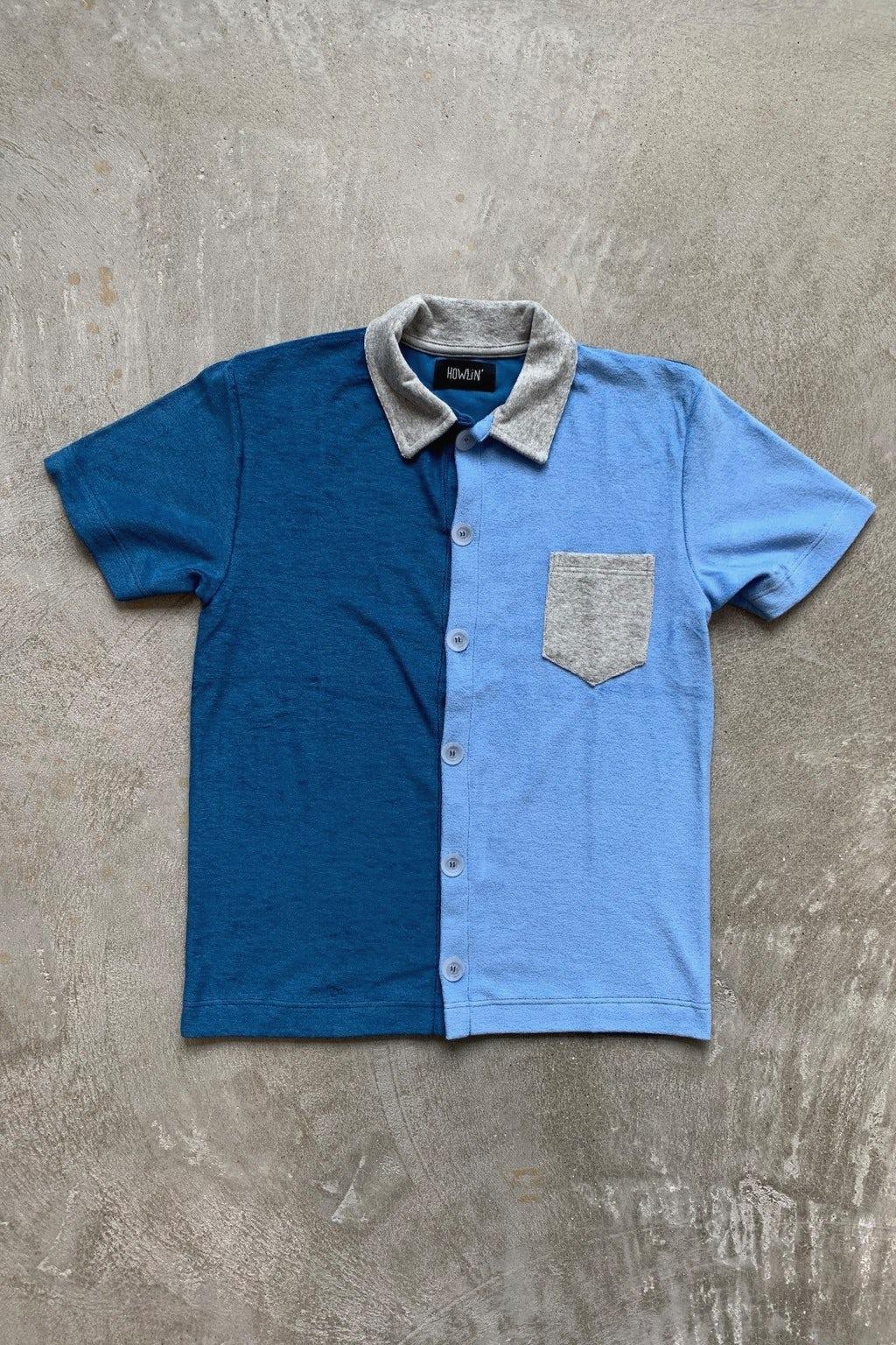 Howlin' Crystal Clear Shirt Ocean Blue