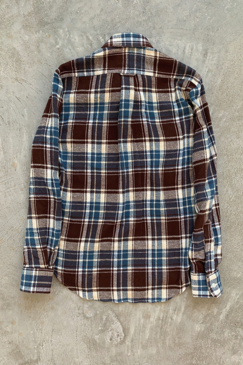Gitman Bros. Vintage Long Sleeve Button Down  Washington Brushed Triple Yarn