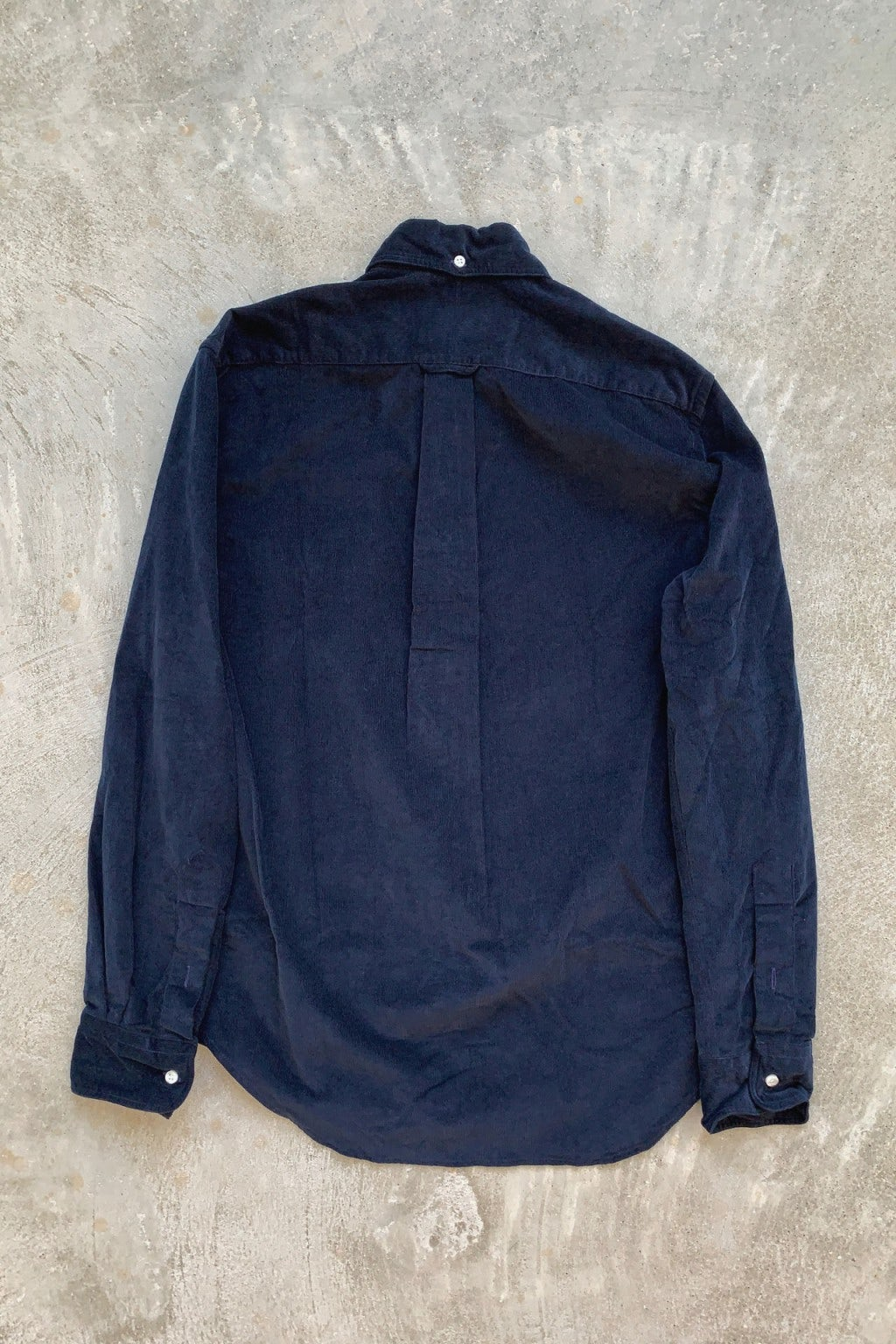 Gitman Bros. Vintage Long Sleeve Button Down Navy Corduroy