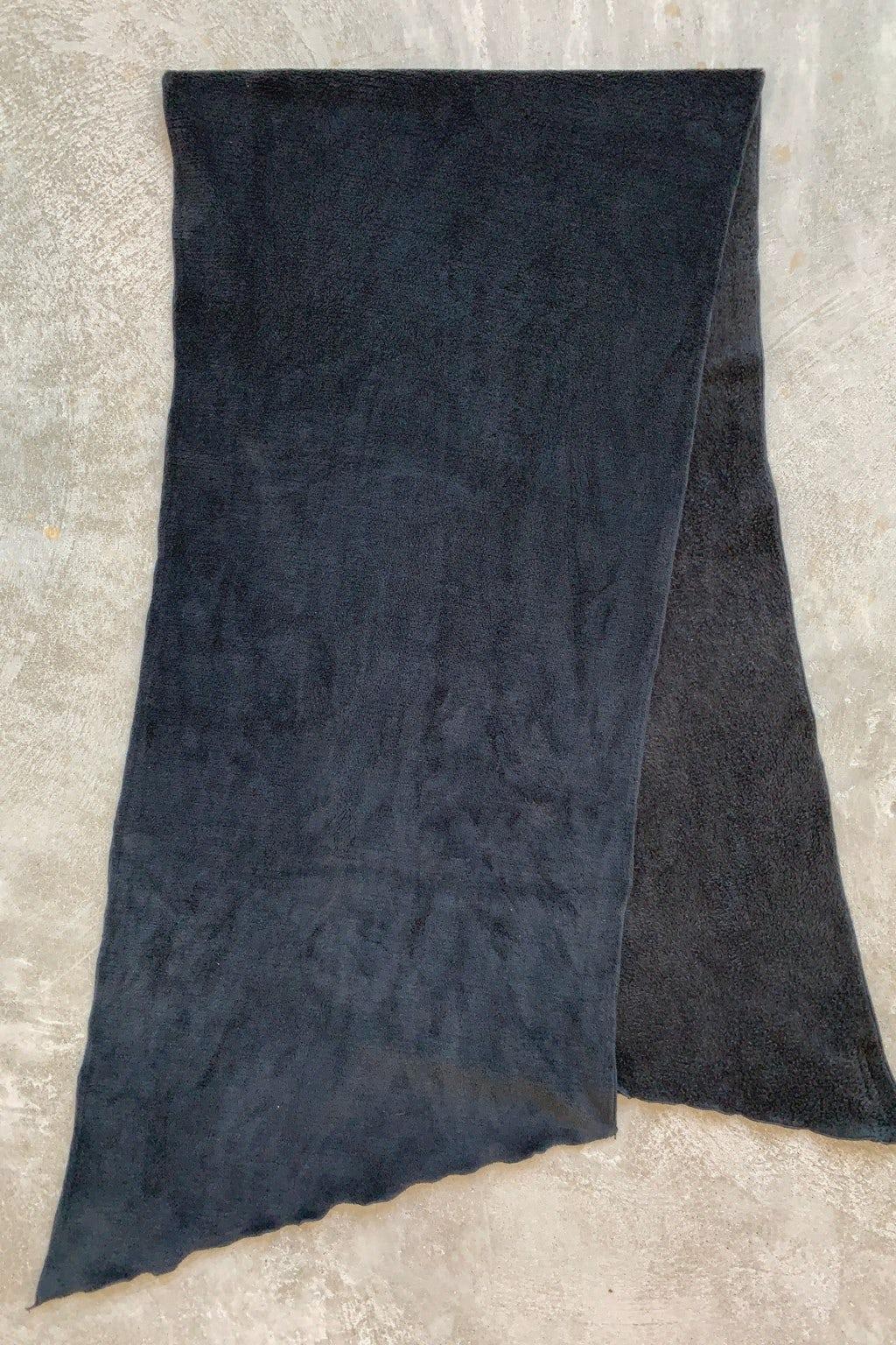 Engineered Garments Long Scarf Black Polyester