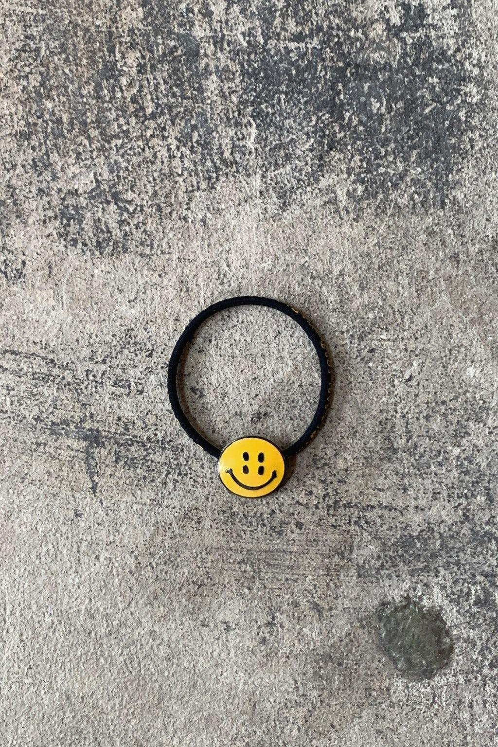 Kapital RAIN SMILE Concho Hairband Black