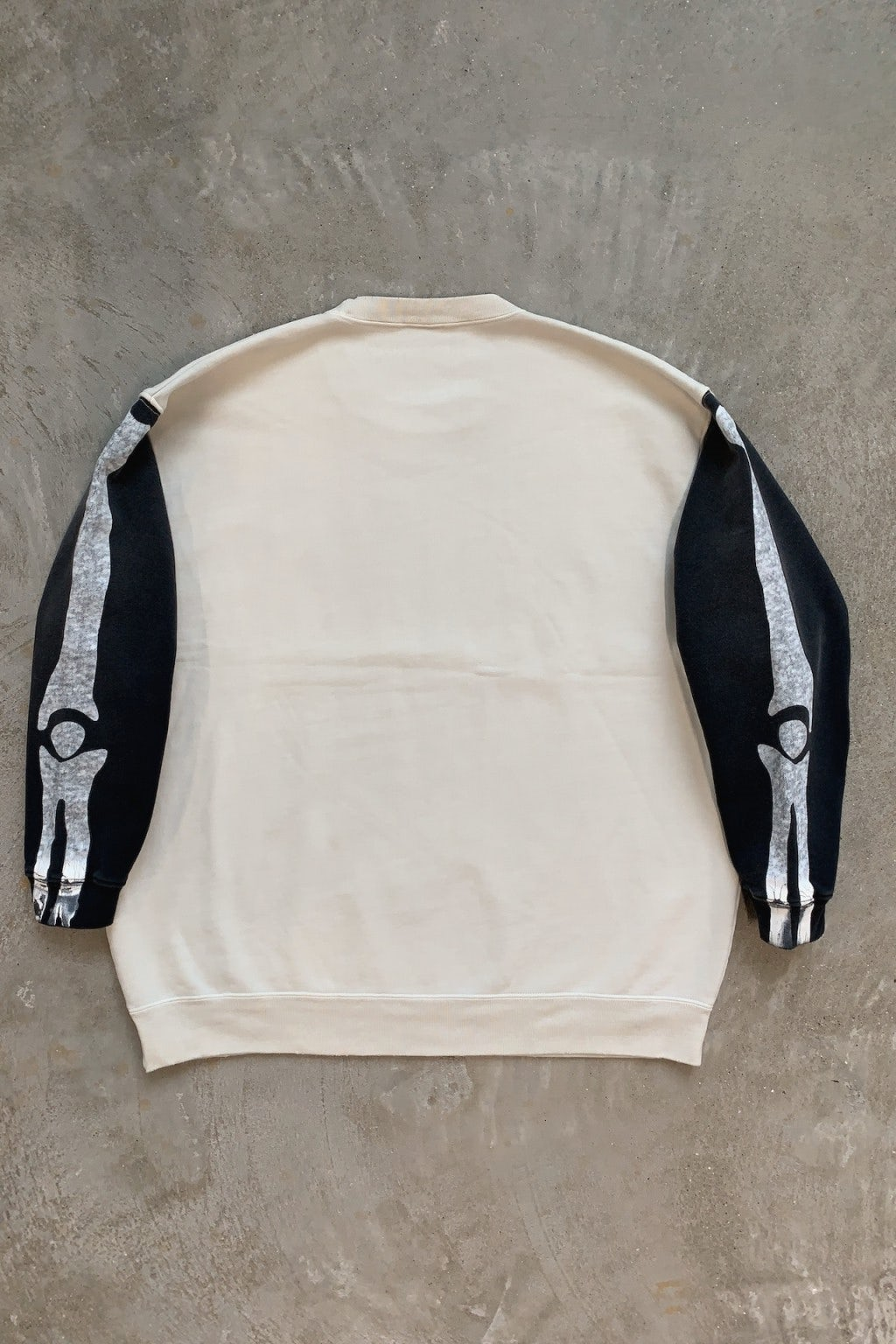 Kapital Fleecy Knit 2TONE Sleep Remake BIG SWT BNA (Bone)
