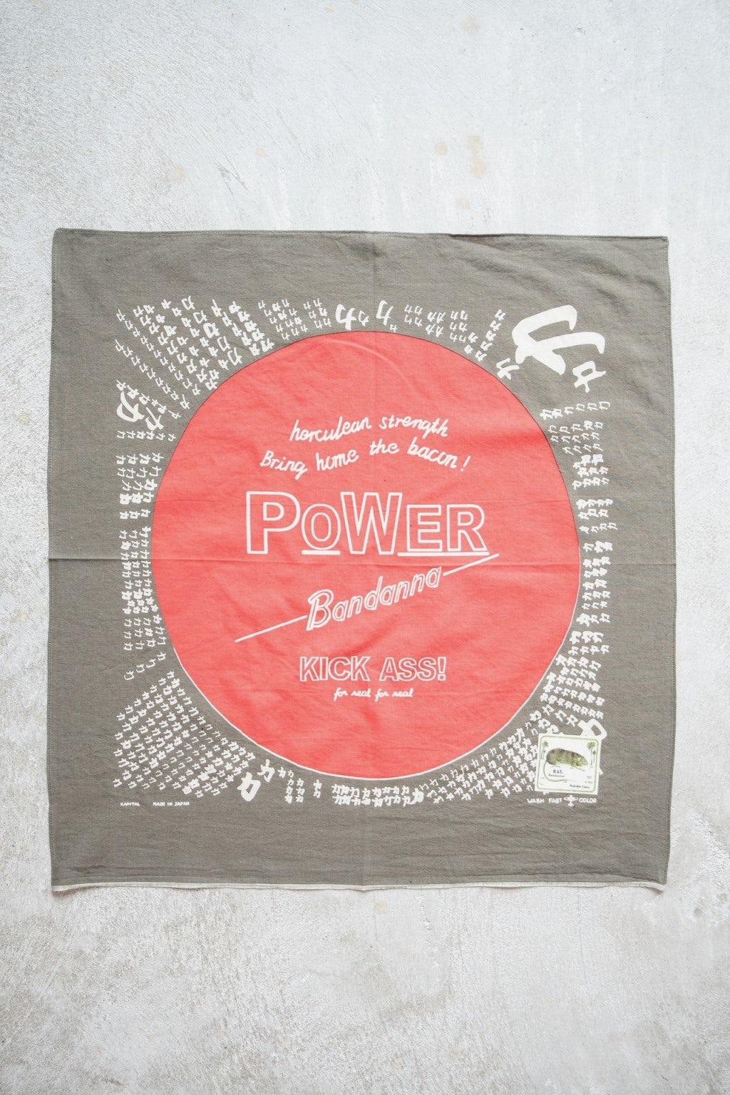 Kapital Fastcolor Selvedge Badana (POWER) Khaki
