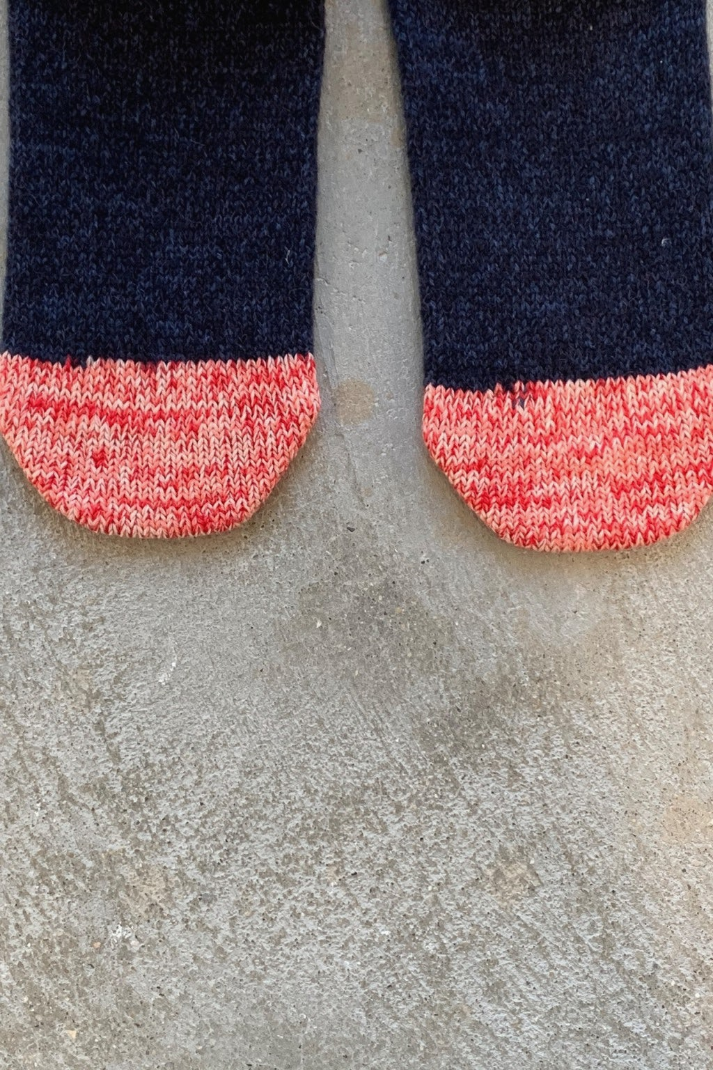 Kapital 72 Yarns Wool IVY Smilie Socks Blue