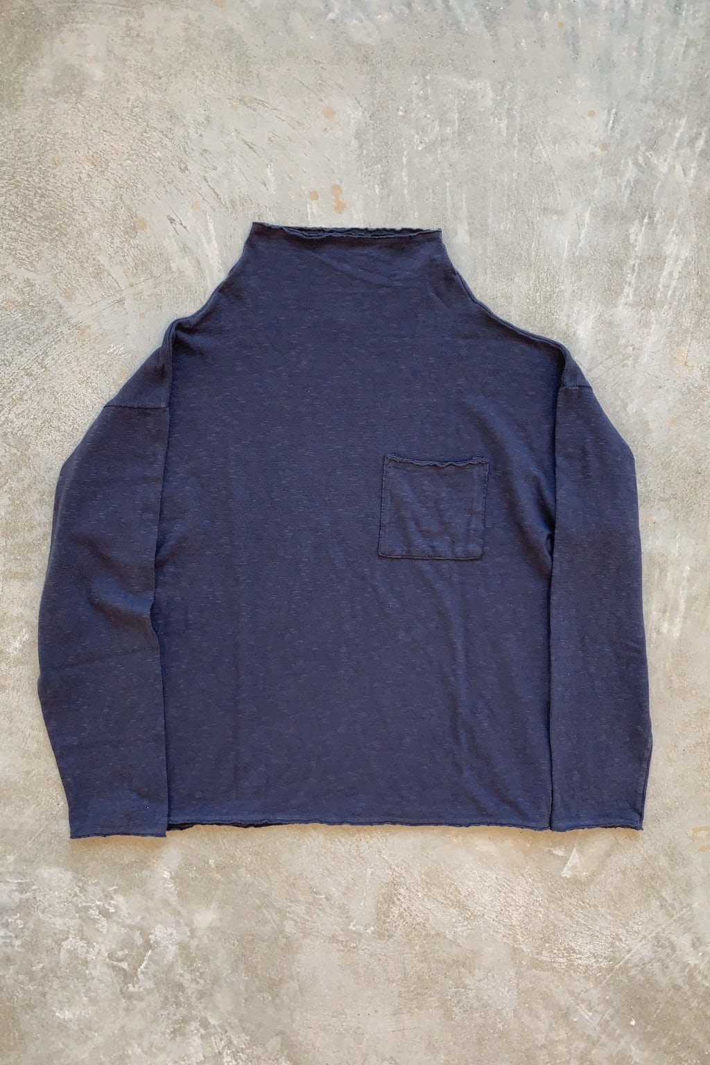 Kapital Amuse Knit Gandhi Long Sleeve T Navy