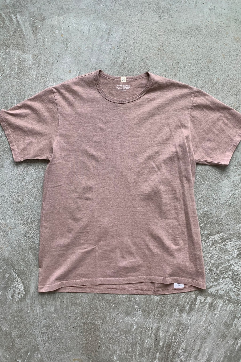 Lady White Co. 101 Single T-Shirt Mauve