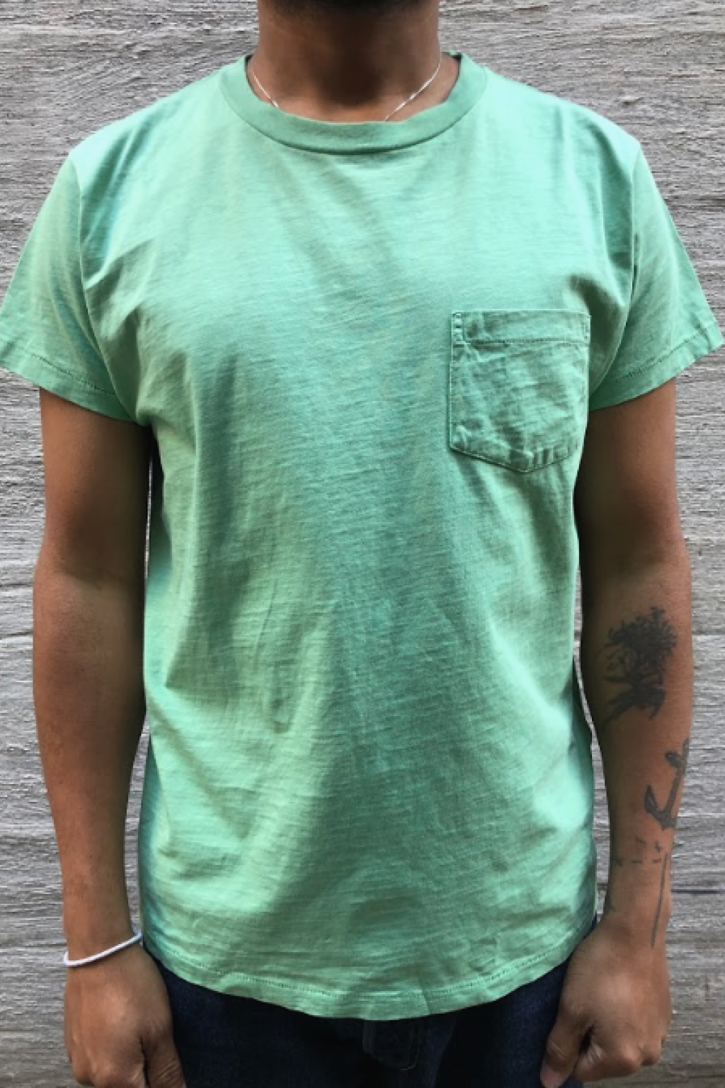 Levi's 1950's Sportswear Tee  Mint Green Cotton