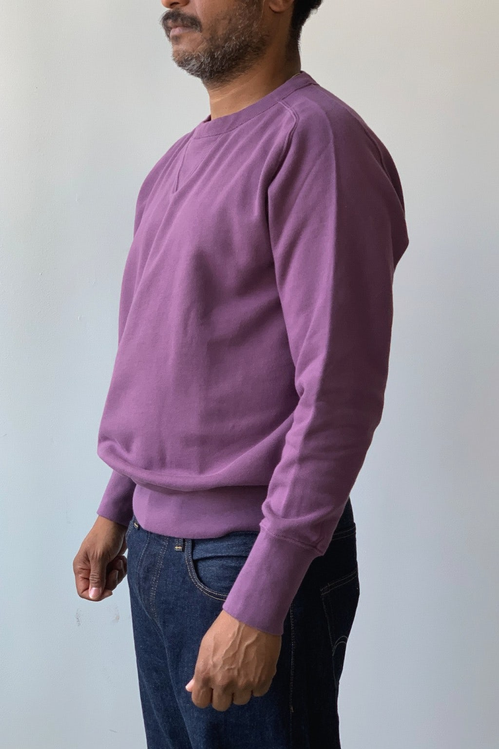 Levi's Bay Meadows Sweatshirt Purple