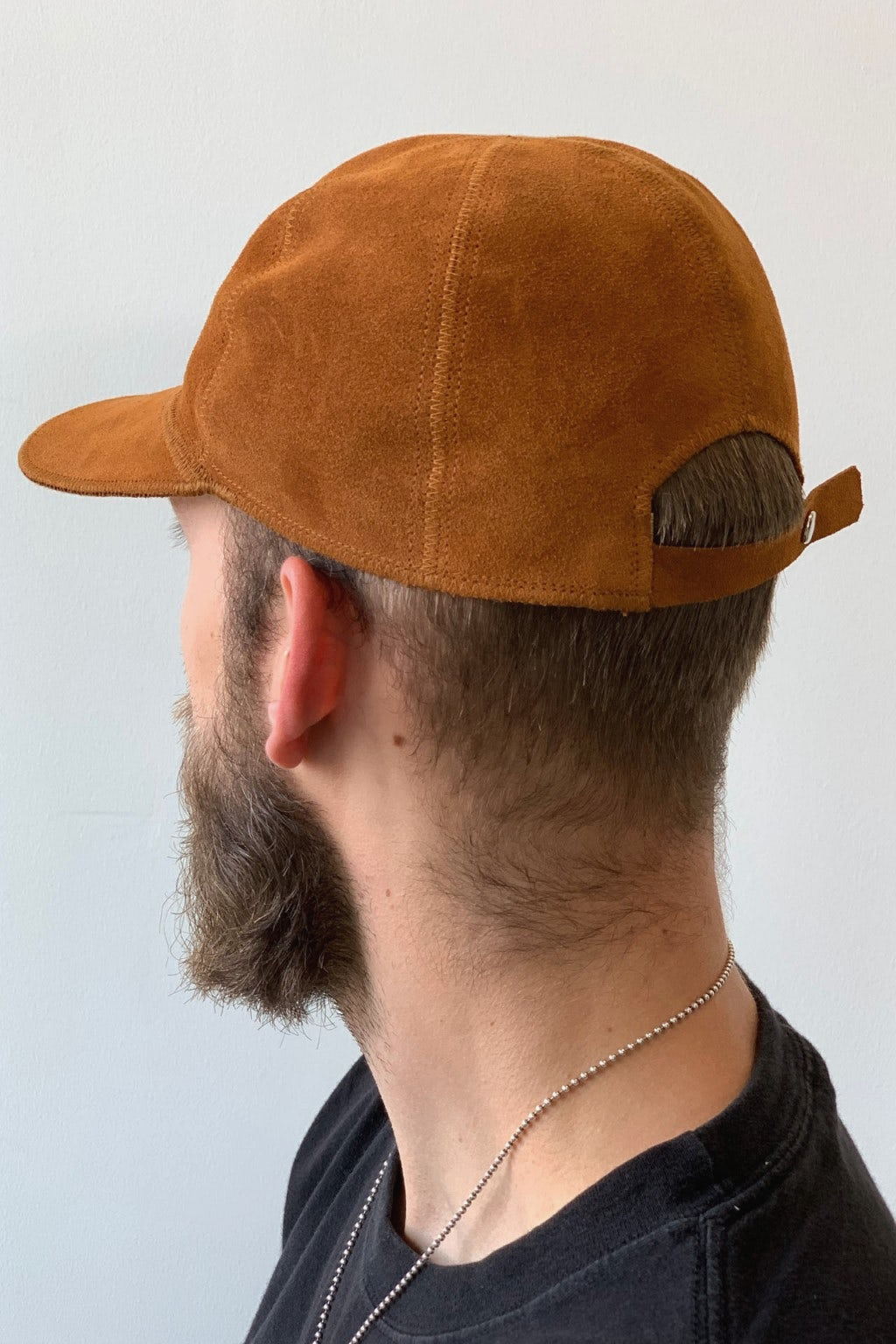 Lady White Co. Hat Rust Suede
