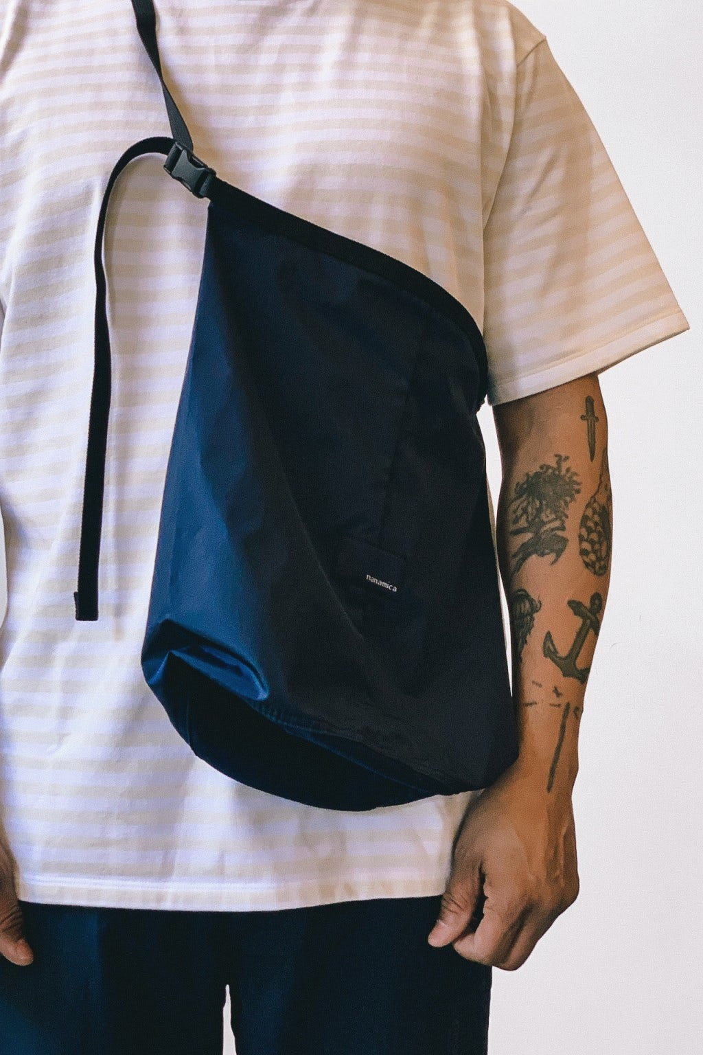 Nanamica Nanamican Utility Shoulder Bag S Navy