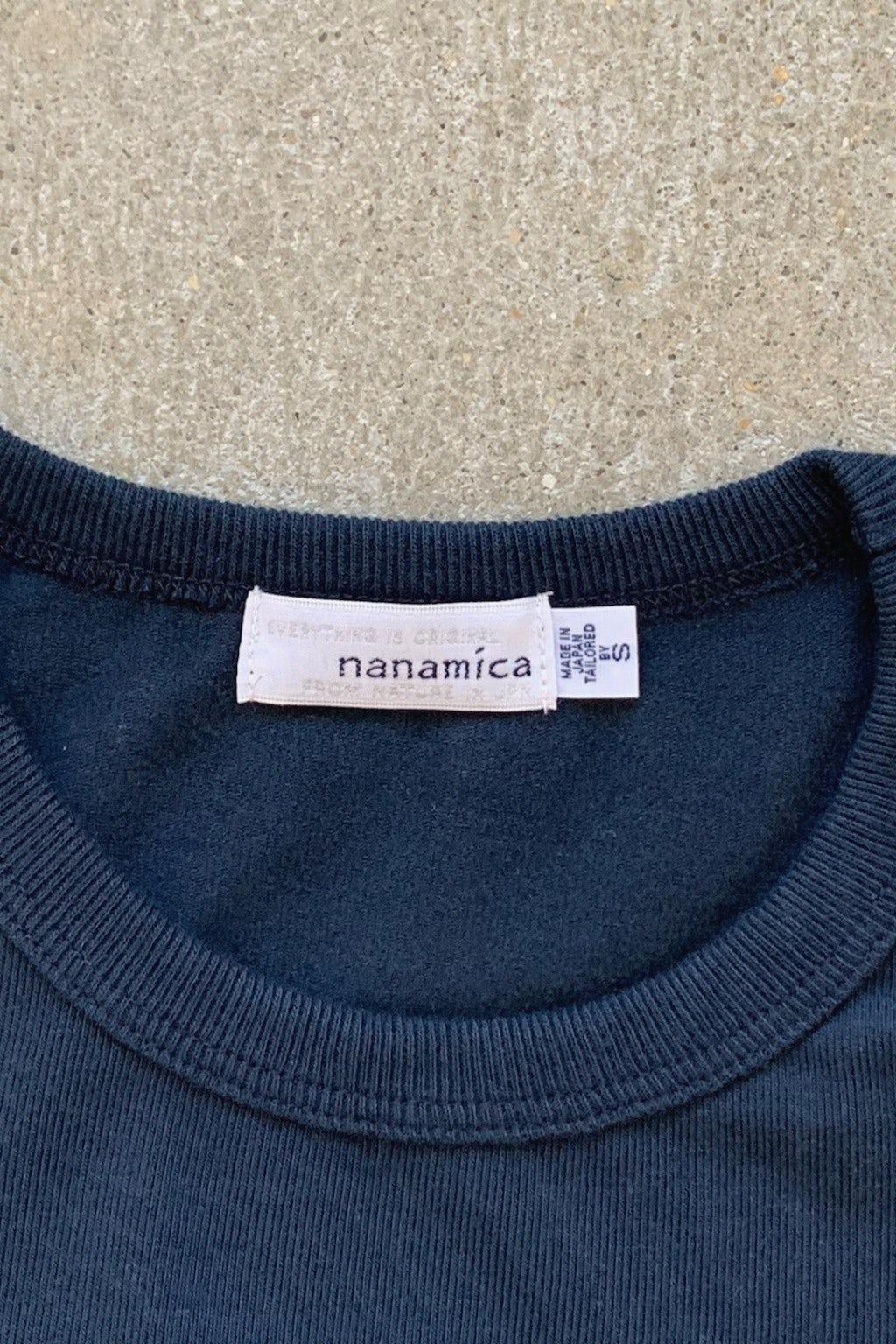 Nanamica Coolmax Jersey Tee Navy