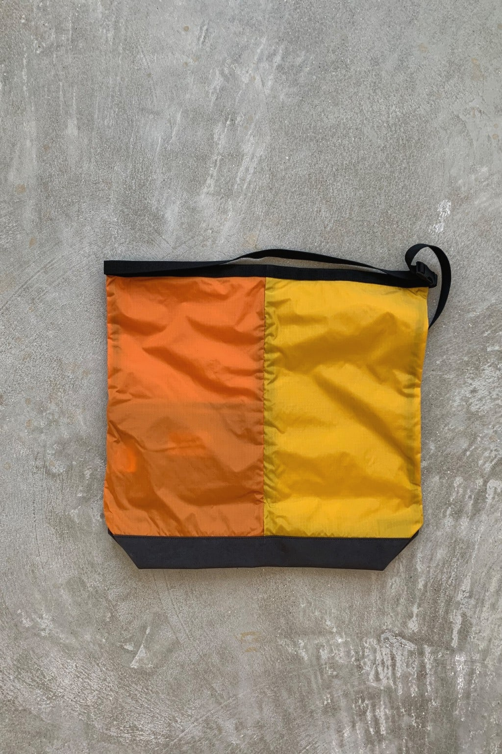 Nanamica Utility Shoulder Bag Large Yellow & Orange