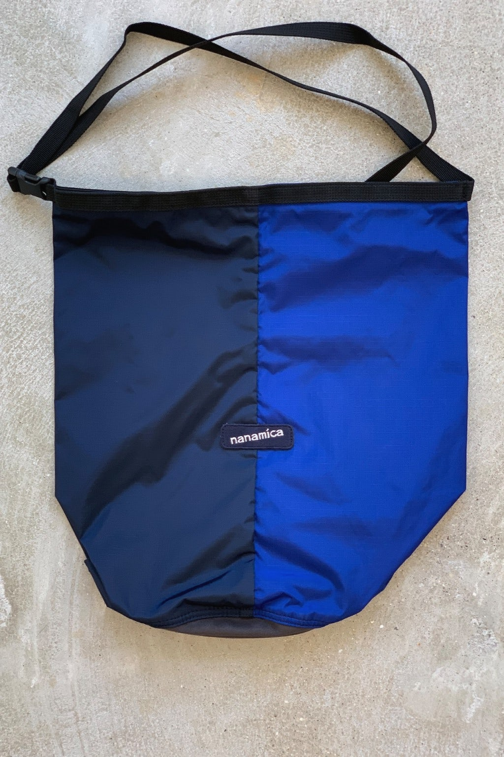 Nanamica Utility Shoulder Bag Small Navy & Blue