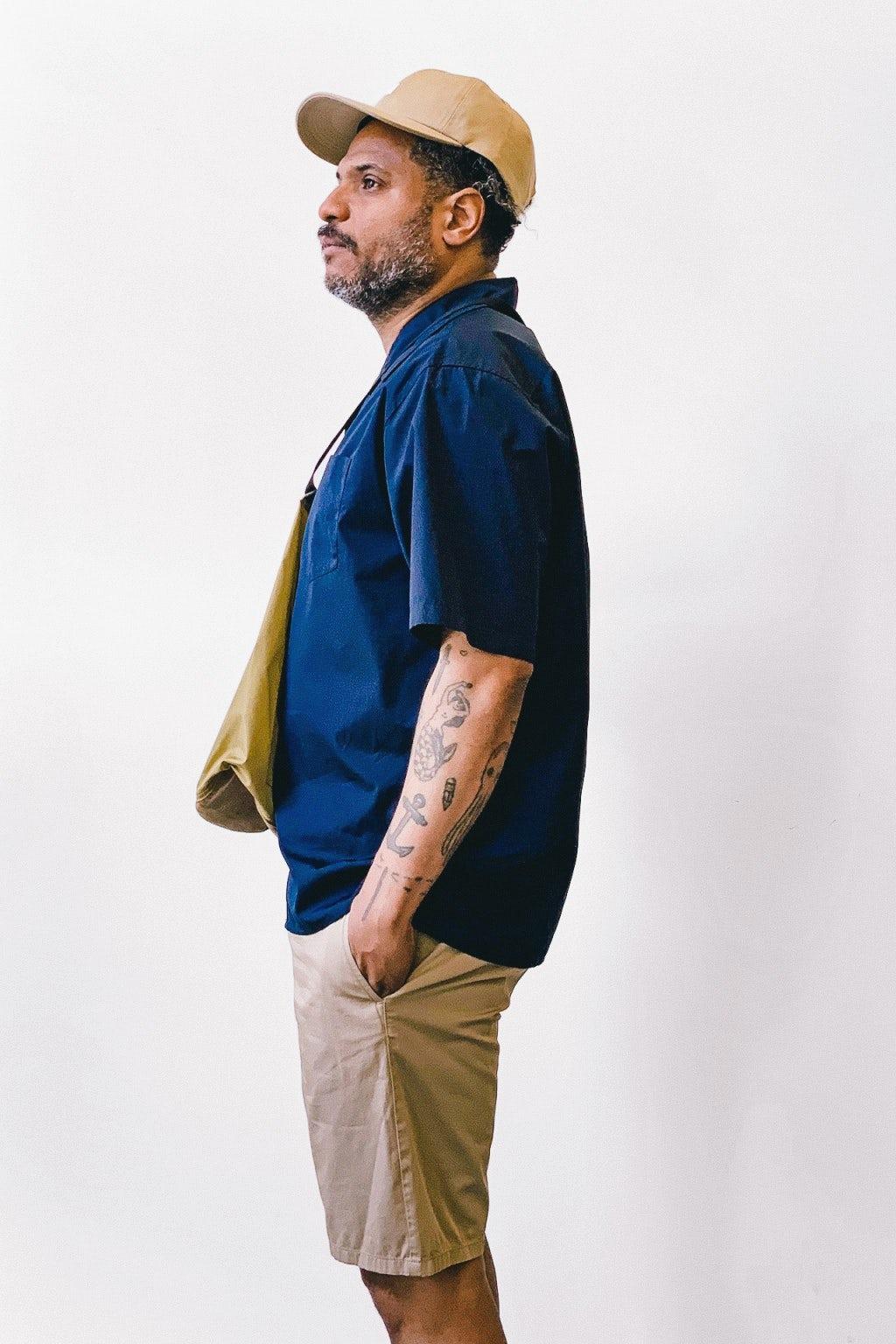 Norse Projects Carsten Poplin Shirt Dark Navy