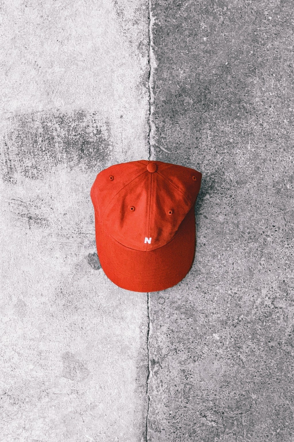Norse Projects Twill Sports Cap Industrial Orange