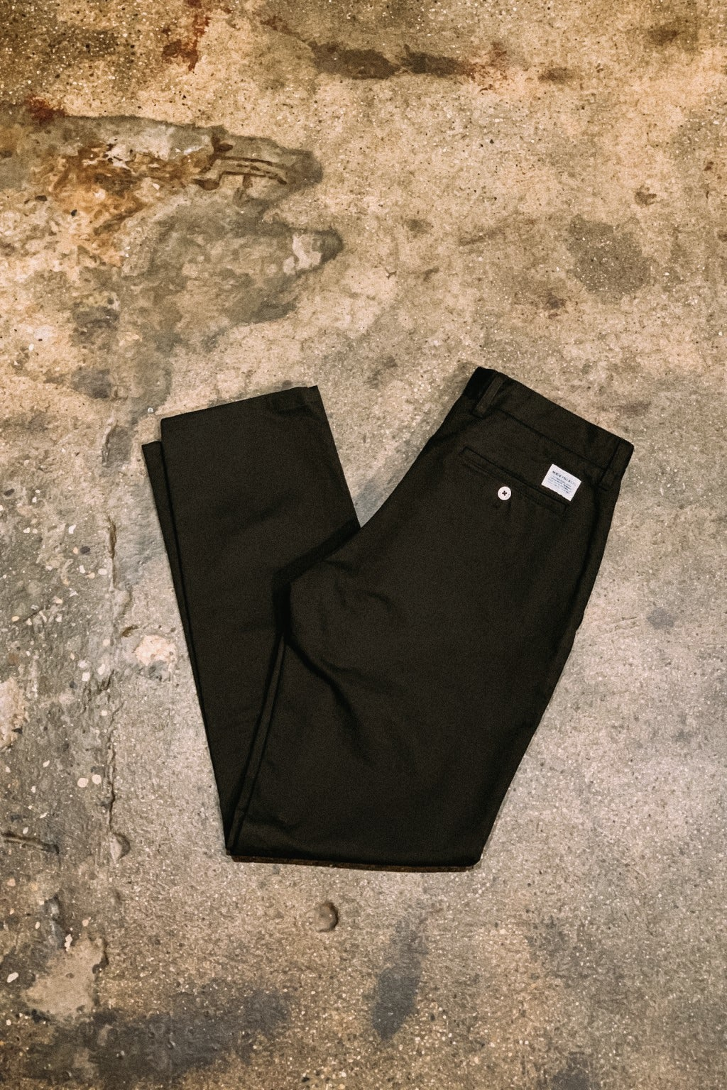 Norse Projects Pant Aros Heavy Beach Green