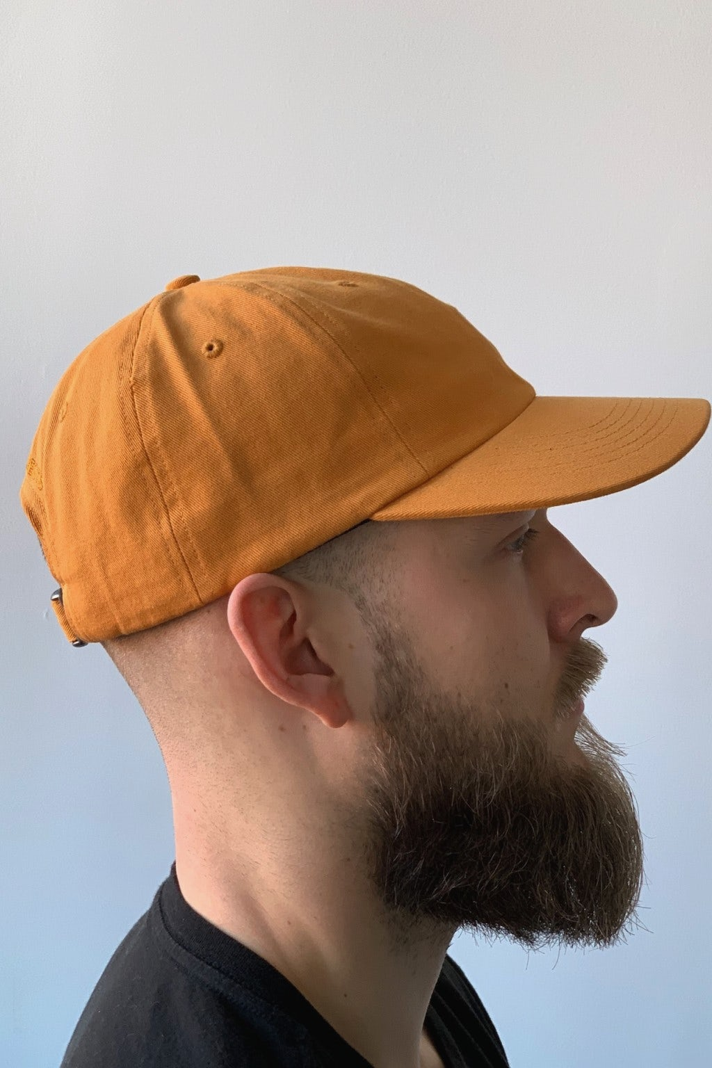 Norse Projects Twill Sports Cap Cadmium Orange