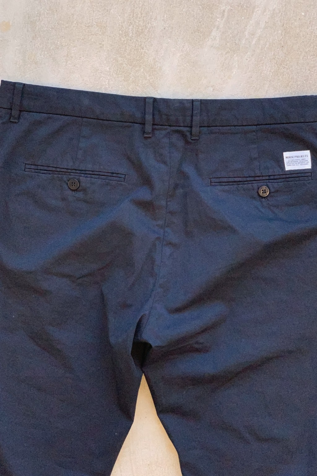 Norse Projects Aros Slim Stretch Pants Dark Navy