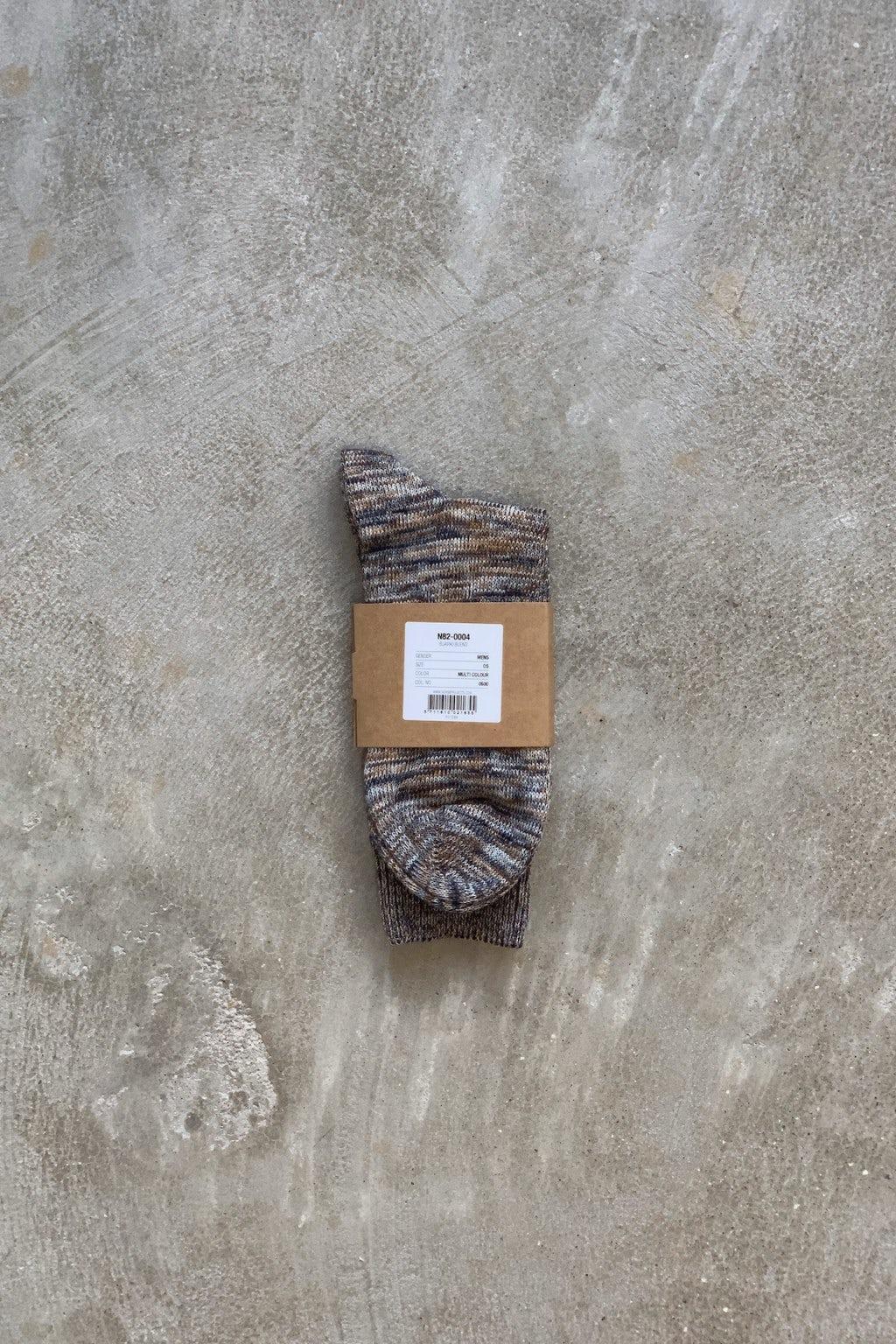 Norse Projects Bjarki Blend Socks Multi-Color