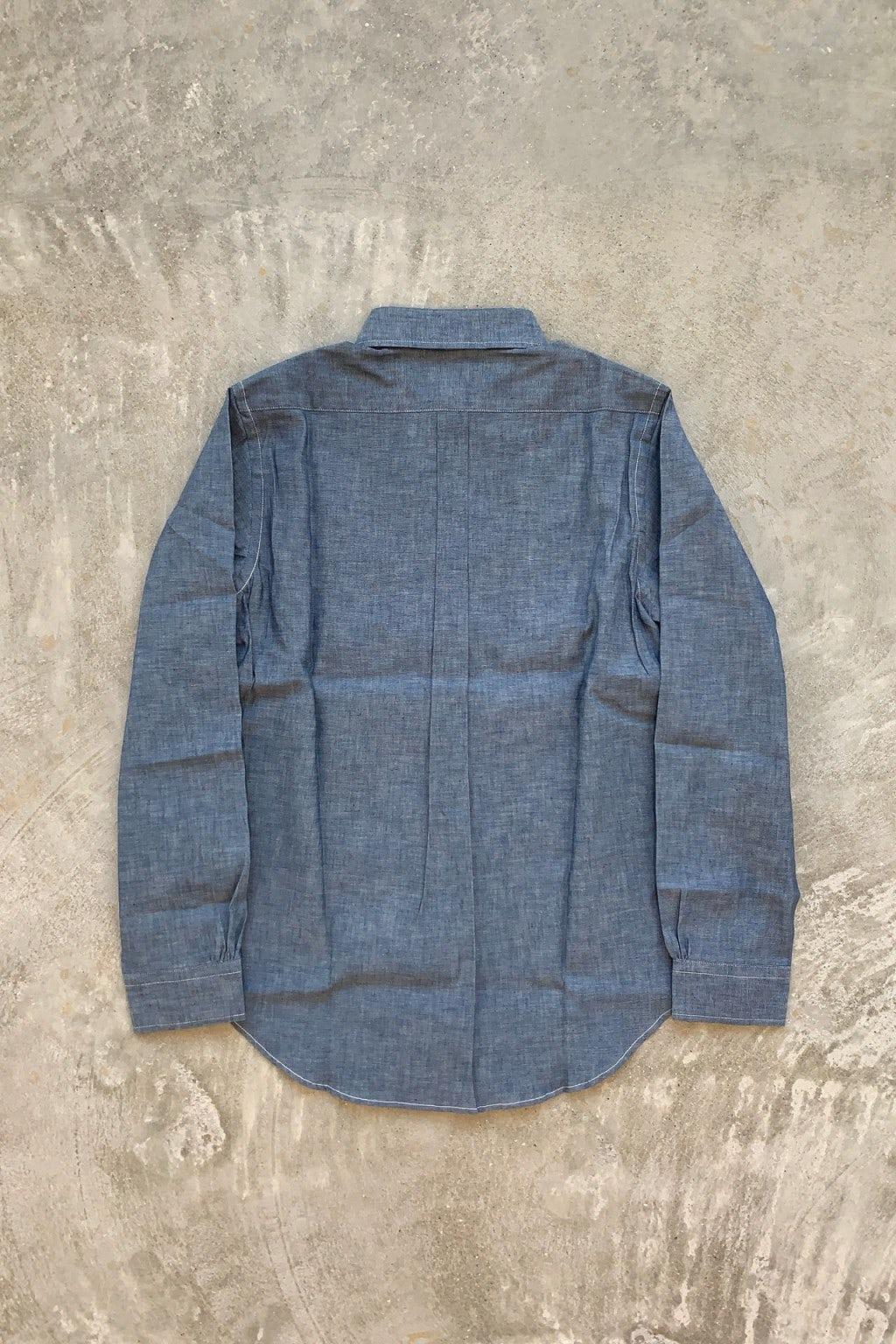 Orslow Button Down Shirt 84 Chambray