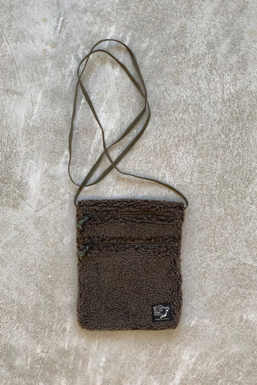 Orslow Sacoche Bag 53 Brown