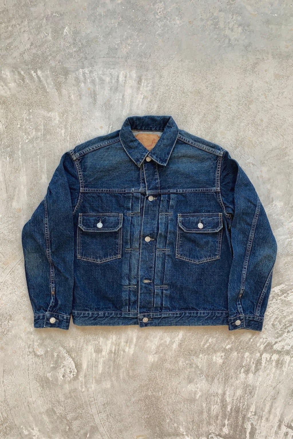 Orslow 50's Denim Jacket Type 2 Two Year Wash