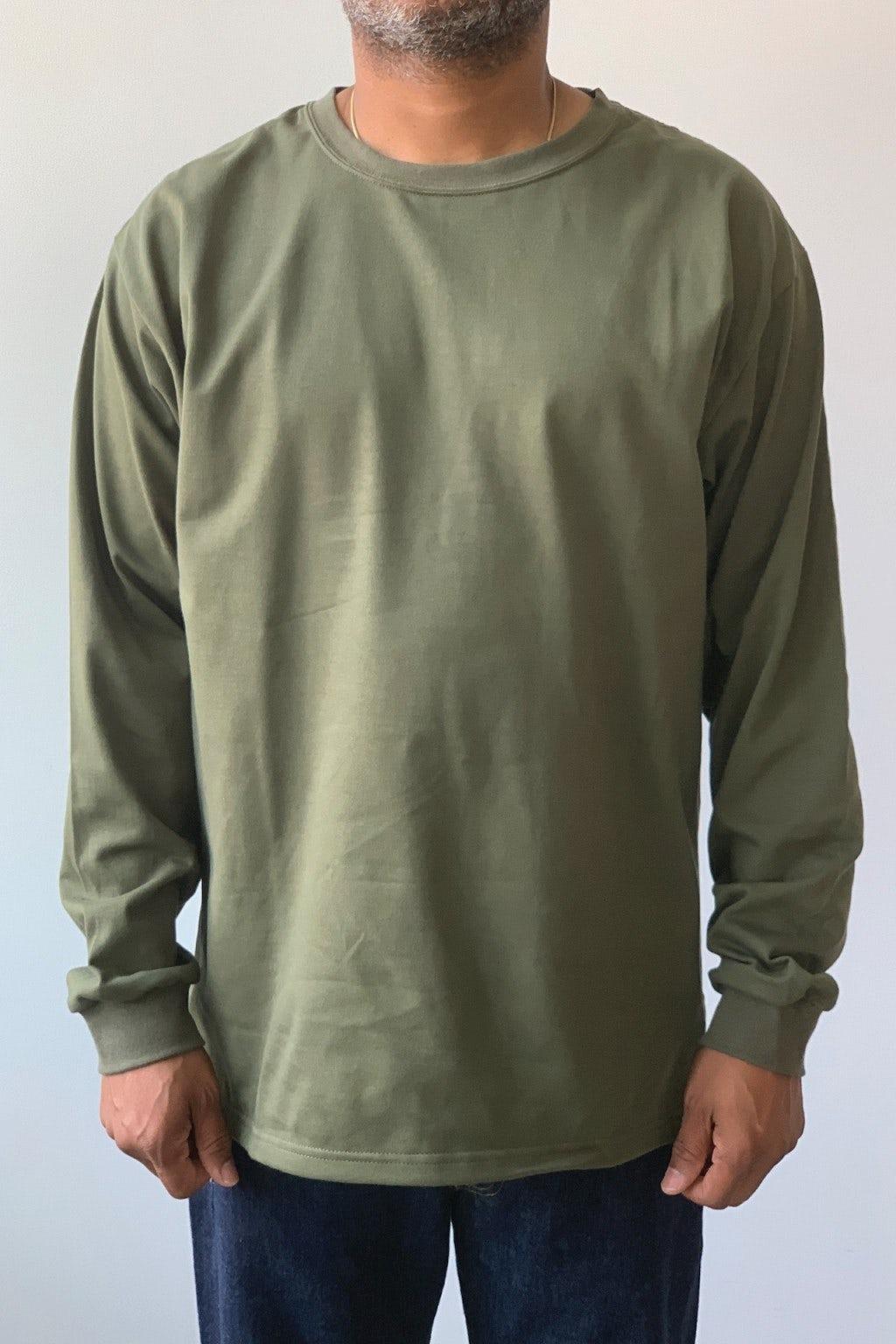 Orslow Longsleeve T-Shirt Army