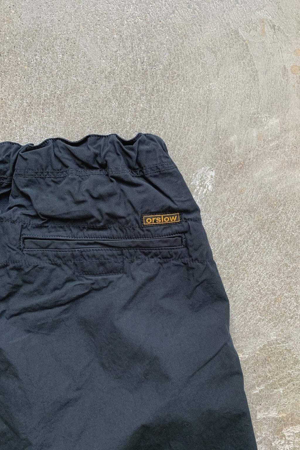 Orslow New Yorker Shorts Charcoal