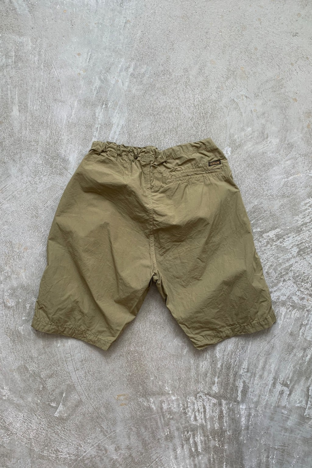Orslow New Yorker Shorts Gold Brown