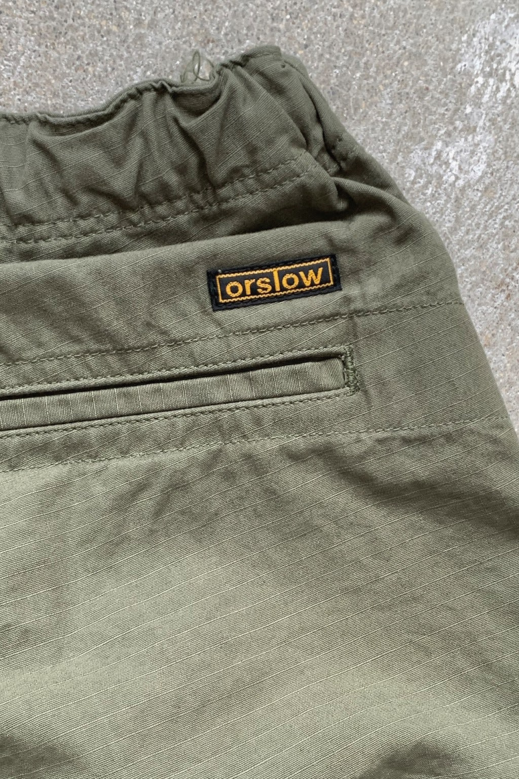 Orslow New Yorker Shorts Green