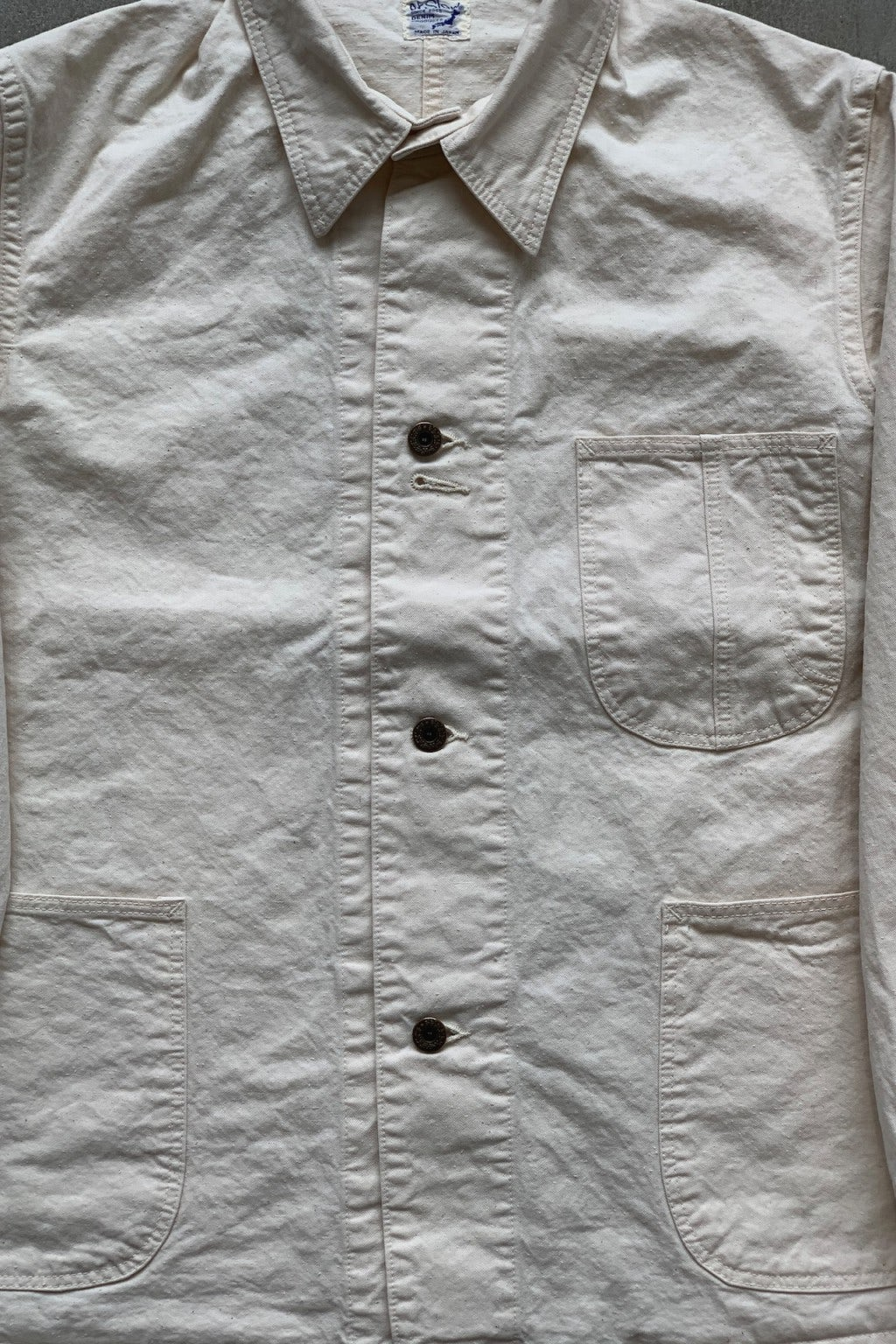 Orslow 40's Coverall Ecru