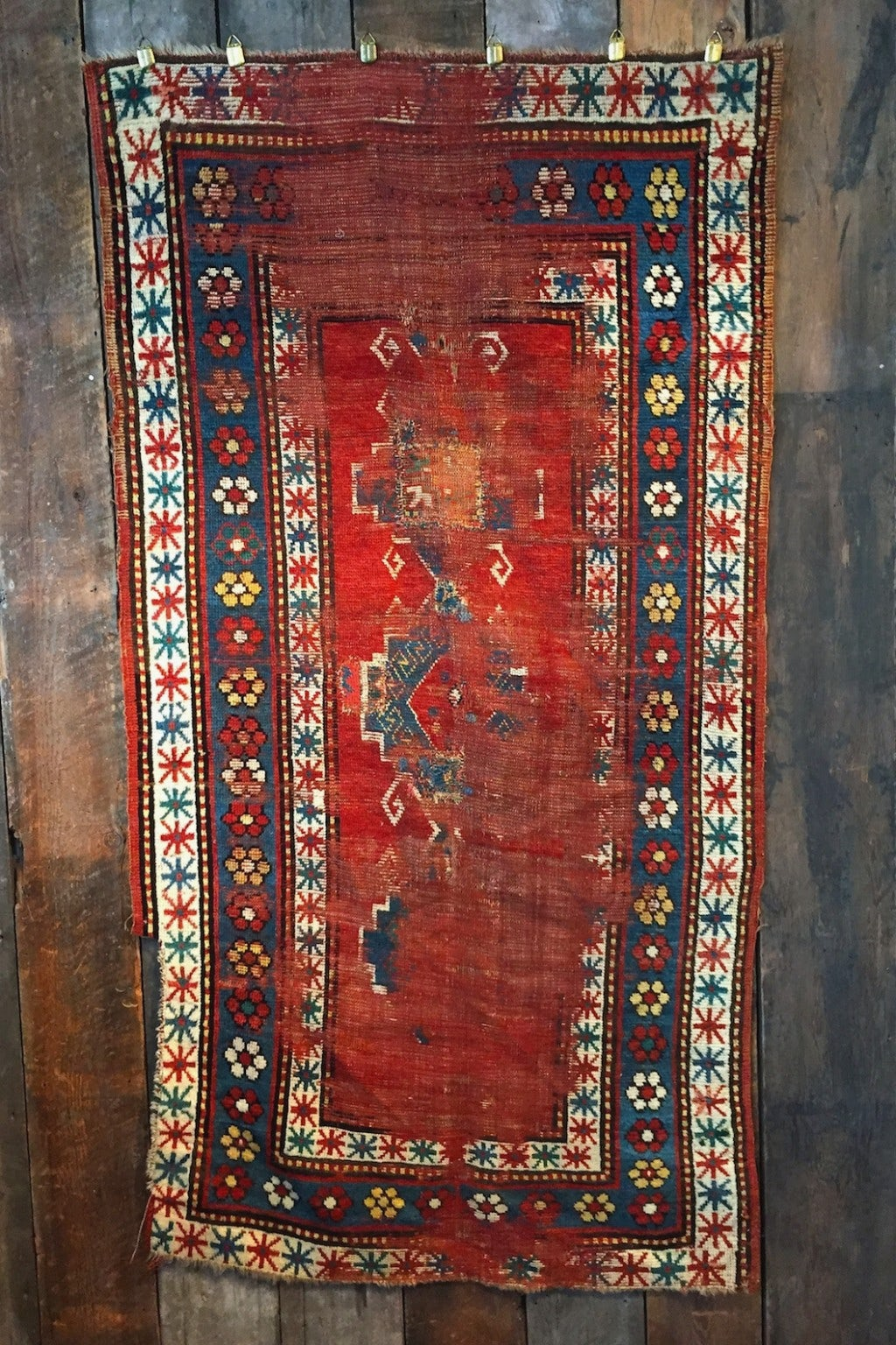 Independence Vintage Goods 1880-1900 Kazak Rug Vintage