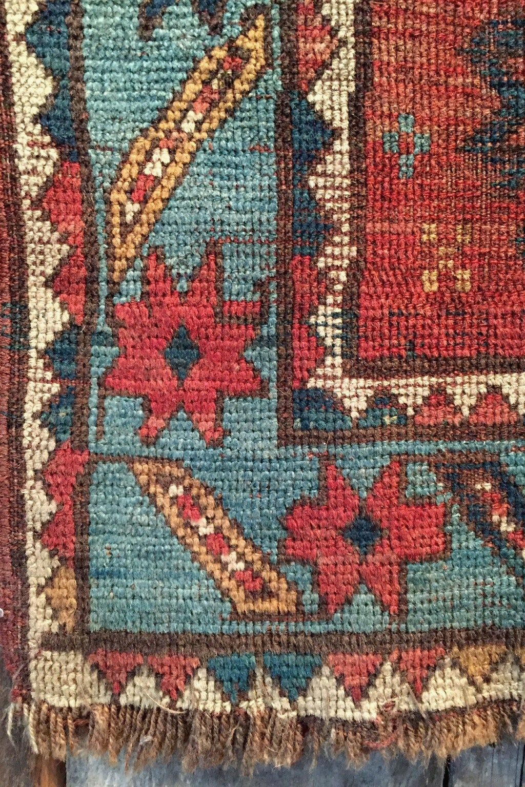 Independence Vintage Goods 19th Century Caucasian Rug Vintage