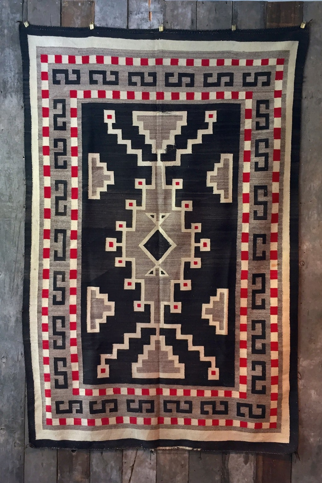 Independence Vintage Goods 19th Century Navajo Blanket  Vintage