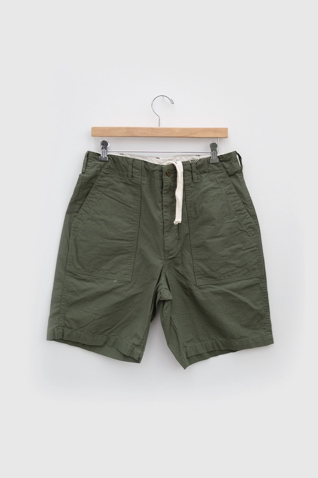Engineered Garments Fatigue Short Olive Cotton Ripstop