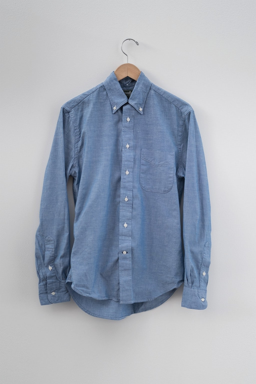 Gitman Bros. Vintage Button Down Blue Chambray