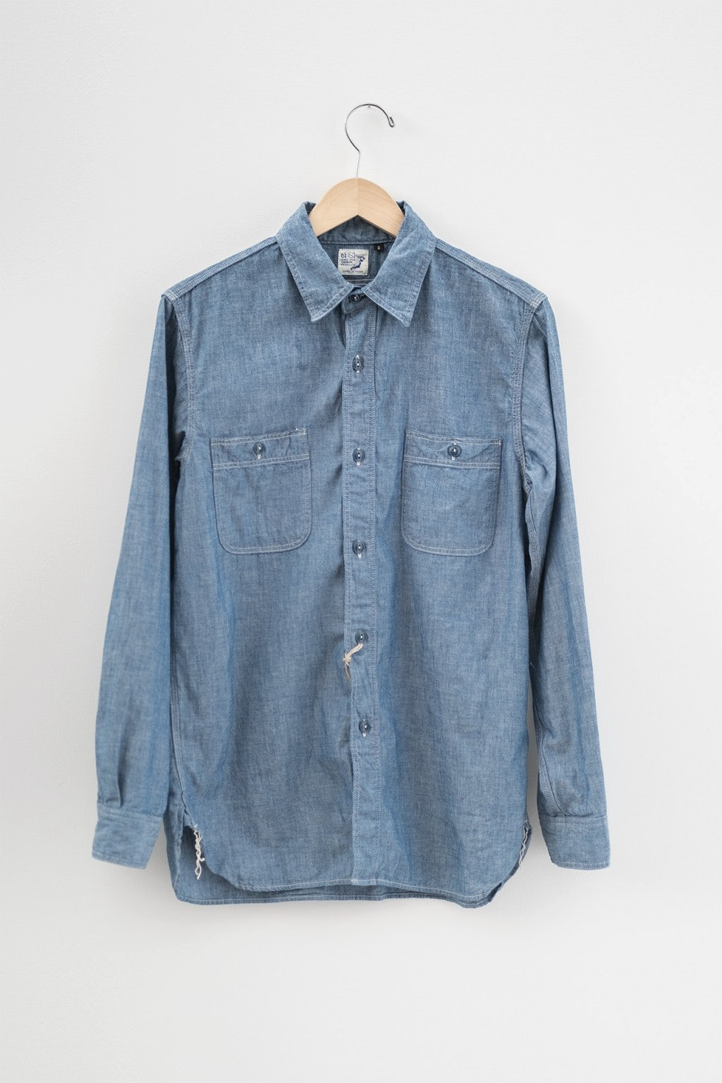 Orslow Work Shirt 84 Chambray