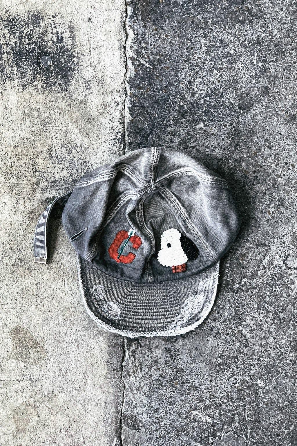 Kapital Cotton KOLA Cap (ZUNI) Grey