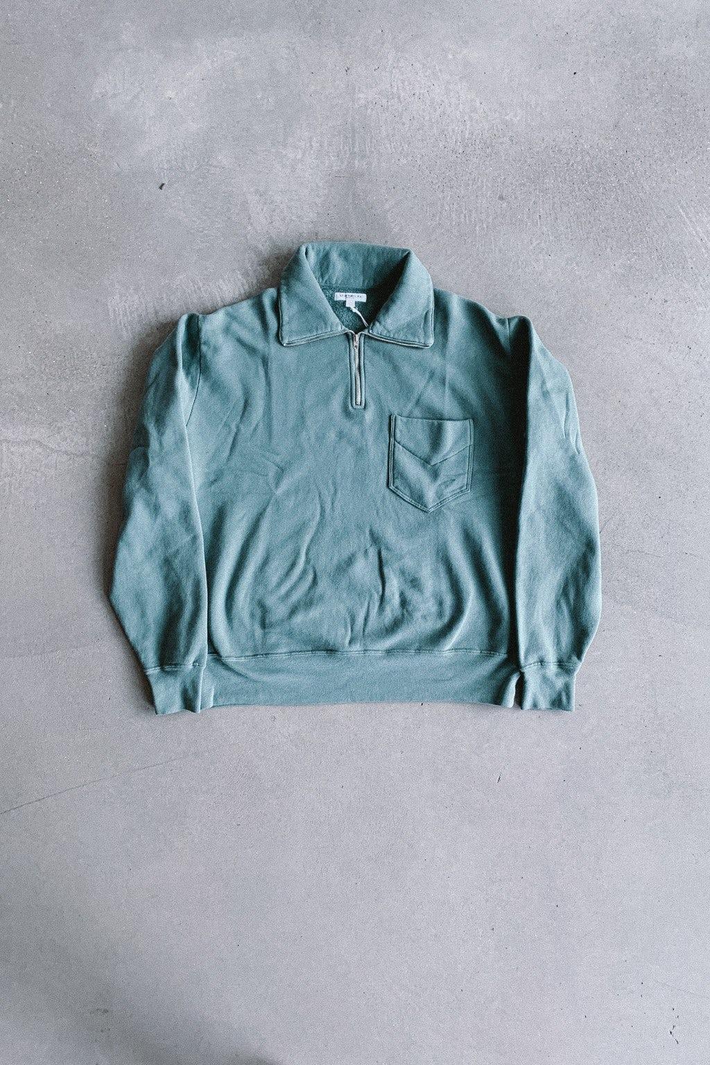 Lady White Co. Quarter Zip Sweatshirt EZ Sage